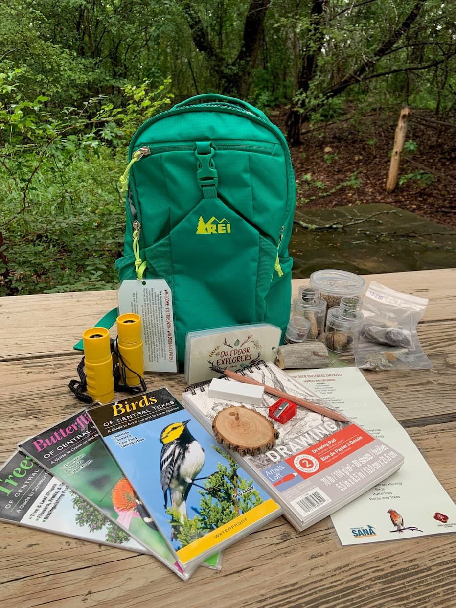 Backpack and Contents