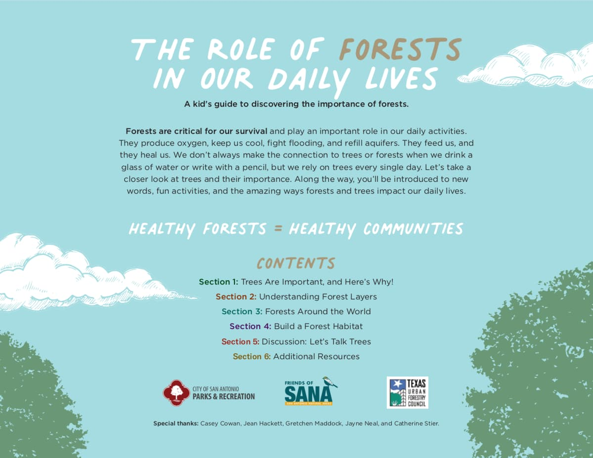 The Role of Forests in our Daily Lives